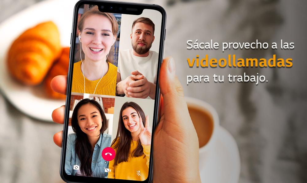 LG Mobile Perú | Sácale provecho a las videollamadas grupales para tu trabajo
