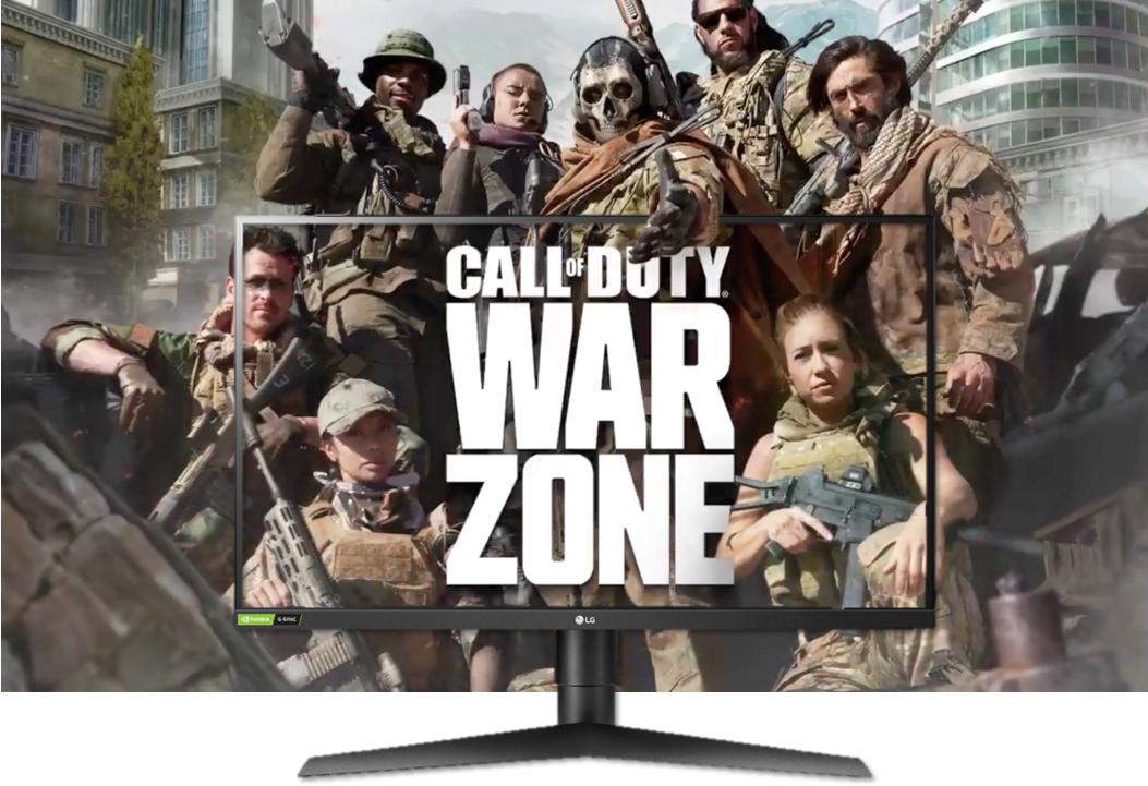 Disfruta jugando Call of Duty: Warzone con los Monitores Gamer de LG