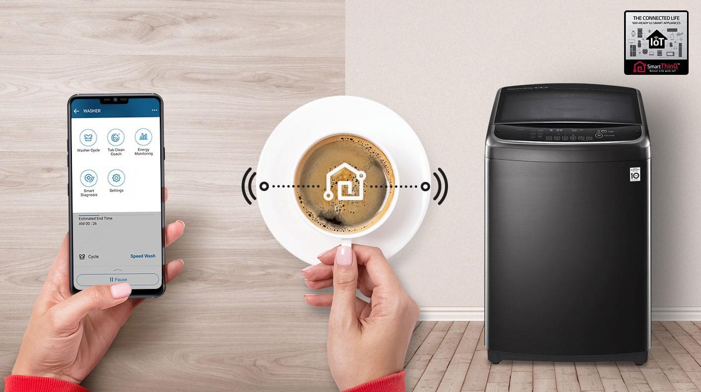 Lavadoras LG | ¿Cómo sincronizar la lavadora con tu móvil?