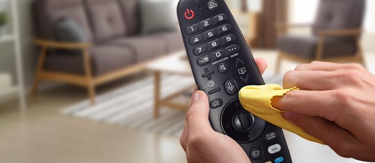 LIMPIEZA EN CASA: RECOMENDACIONES PARA ASEAR EL CONTROL REMOTO DEL TELEVISOR