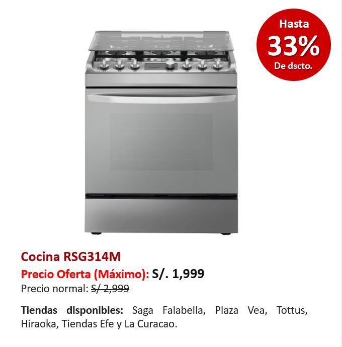 Cocina RSG314M