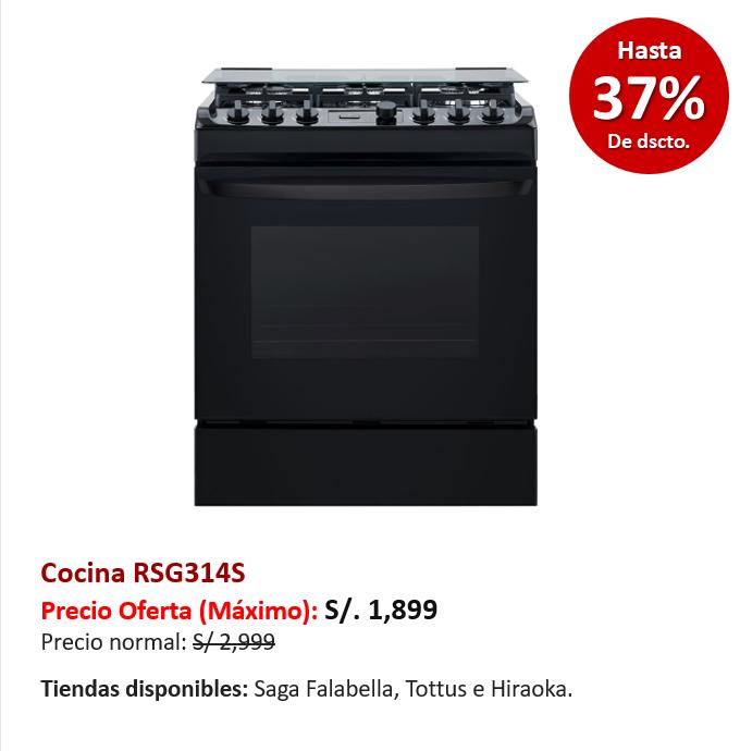Cocina RSG314S