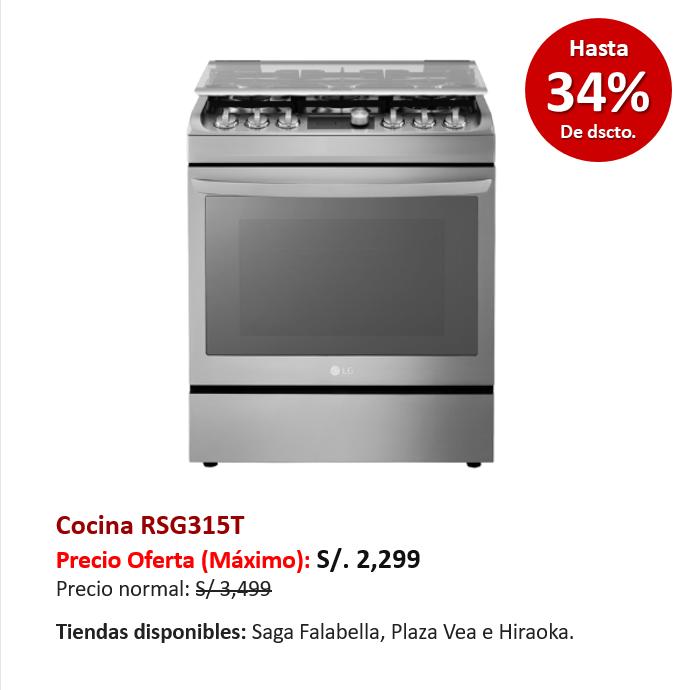 Cocina RSG315T