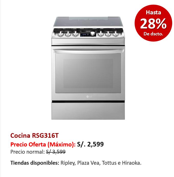 Cocina RSG316T