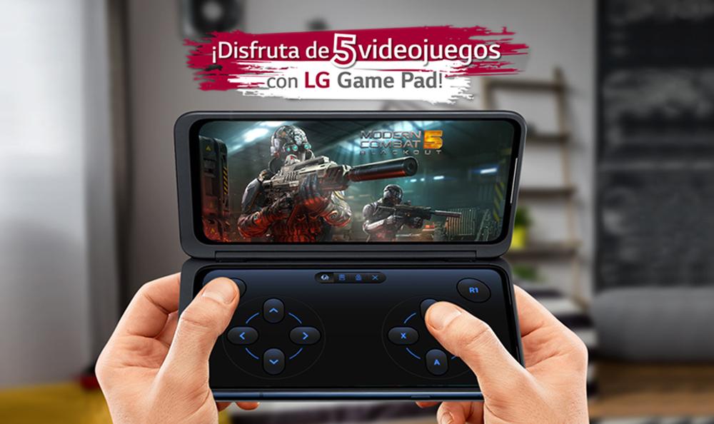 LG G8X Dual Screen | 5 videojuegos compatibles con el Game Pad de LG
