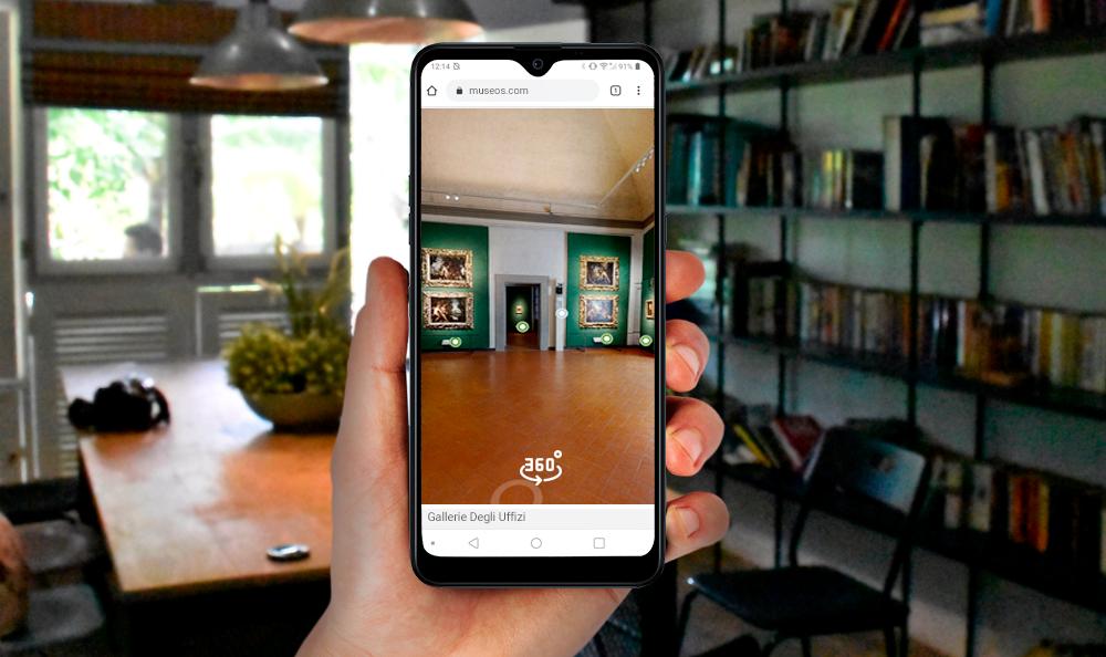 LG Mobile | ¡Visita los museos más famosos del mundo, desde tu celular!