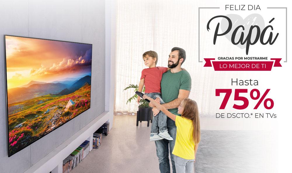 Televisores LG | ¡Los mejores descuentos por el Día del Padre!