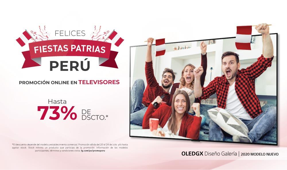 Promociones LG TV – Fiestas Patrias 2020