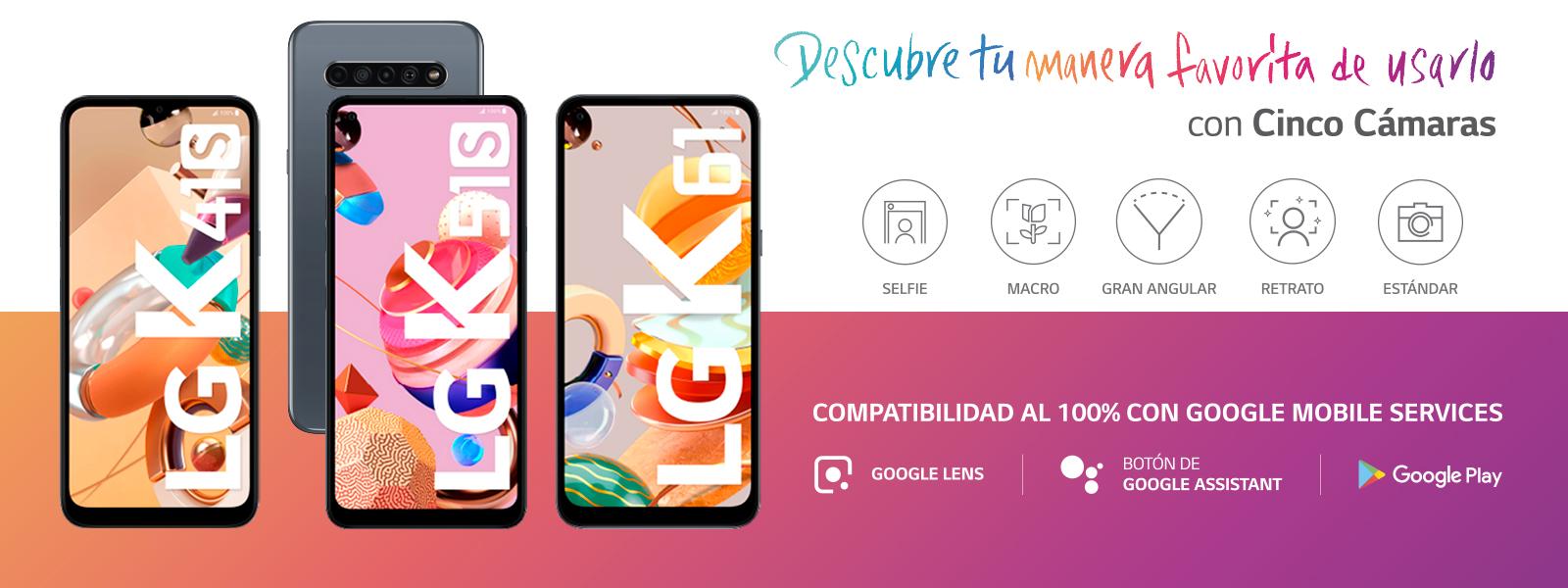 SERIE LG K 2020: LLEGA AL PERÚ LA GAMA DE SMARTPHONES QUE OFRECE CINCO CÁMARAS PARA TODOS