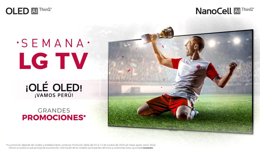 Promociones LG TV – Olé OLED ¡Vamos Perú!