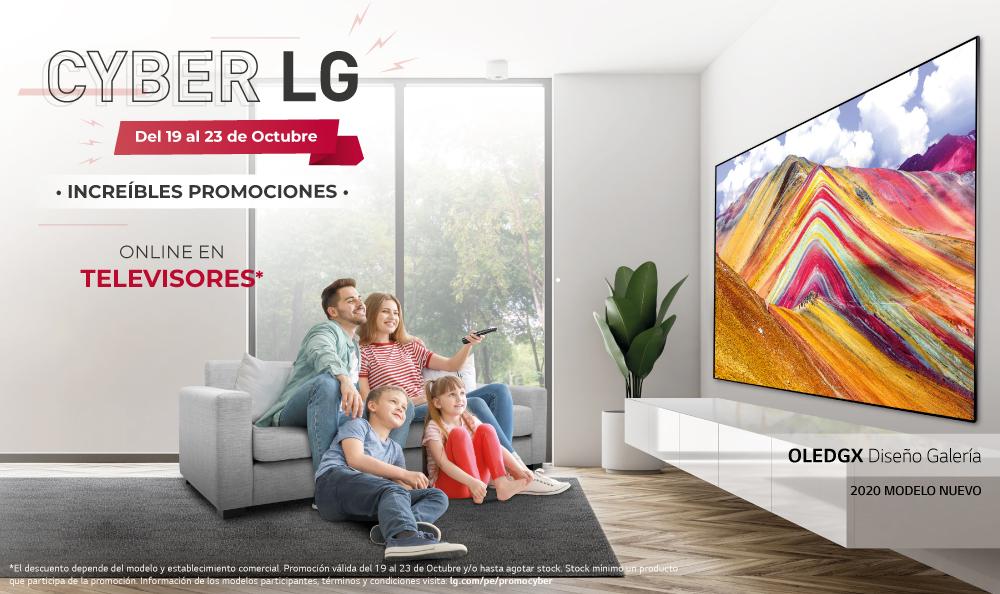 ¡Encuentra los mejores descuentos en TV en el Cyber LG!