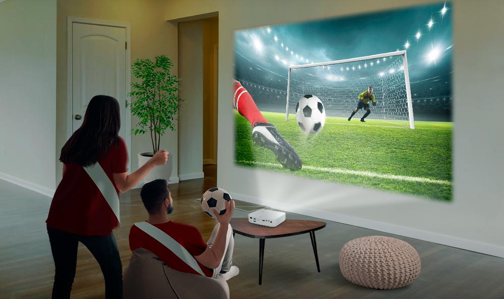 LG CineBeam | Vive la fiebre del fútbol a lo GRANDE