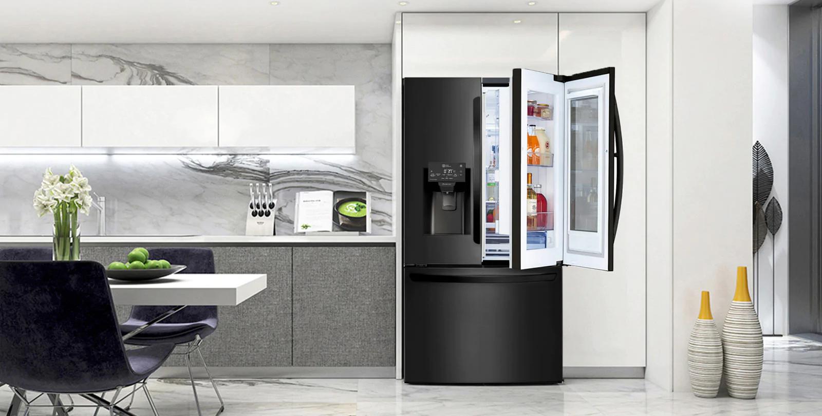 Conoce todo sobre nuestra refrigeradora LG con Fábrica de hielos dual Craft Ice™