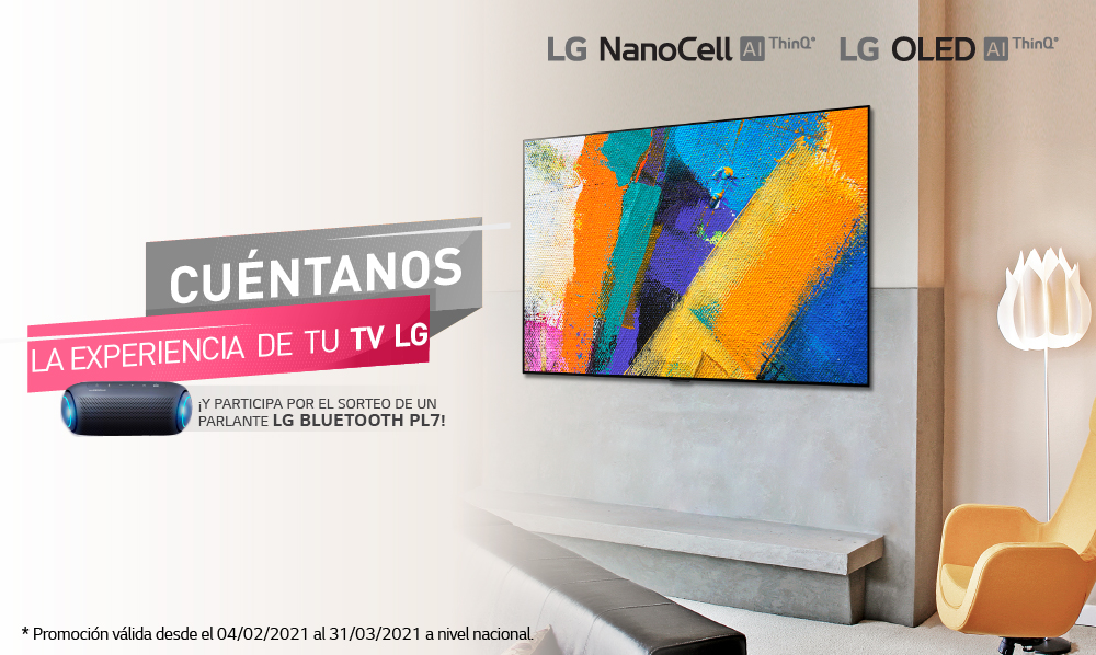 Términos y Condiciones – Cuéntanos La Experiencia de Tu TV LG