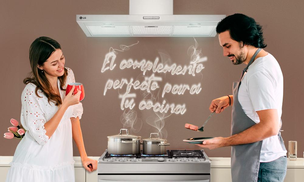 Electrodomésticos LG | ¿Por qué debo tener una campana para mi cocina?