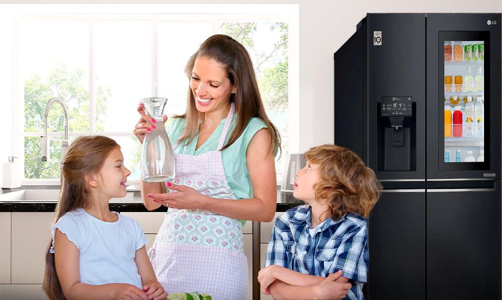 Refrigeradoras LG | Mantén a tu familia sana, libre de cualquier tipo de contaminación