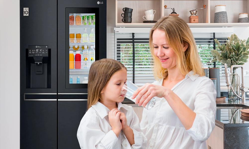 Refrigeradoras LG | ¿Qué pasa si no se cambia el filtro de agua?
