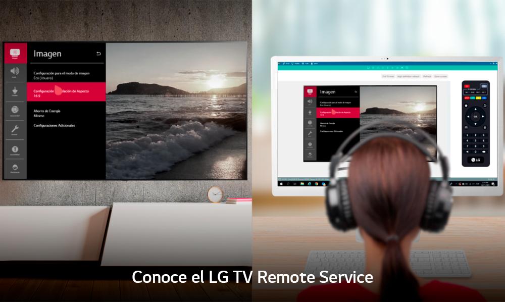 TV Remote Service, el nuevo asistente remoto de LG